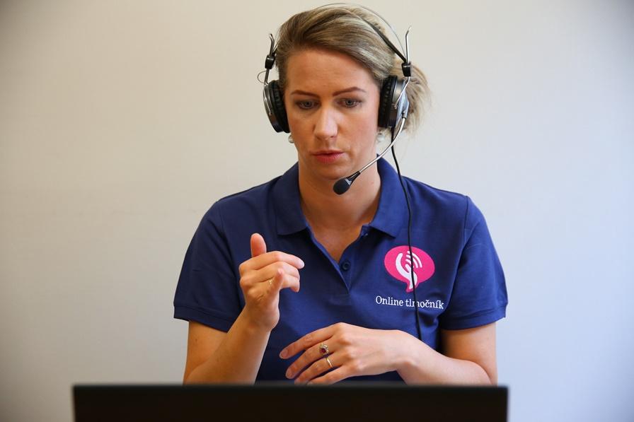 Hľadáme tlmočníkov posunkového jazyka pre program Online tlmočník