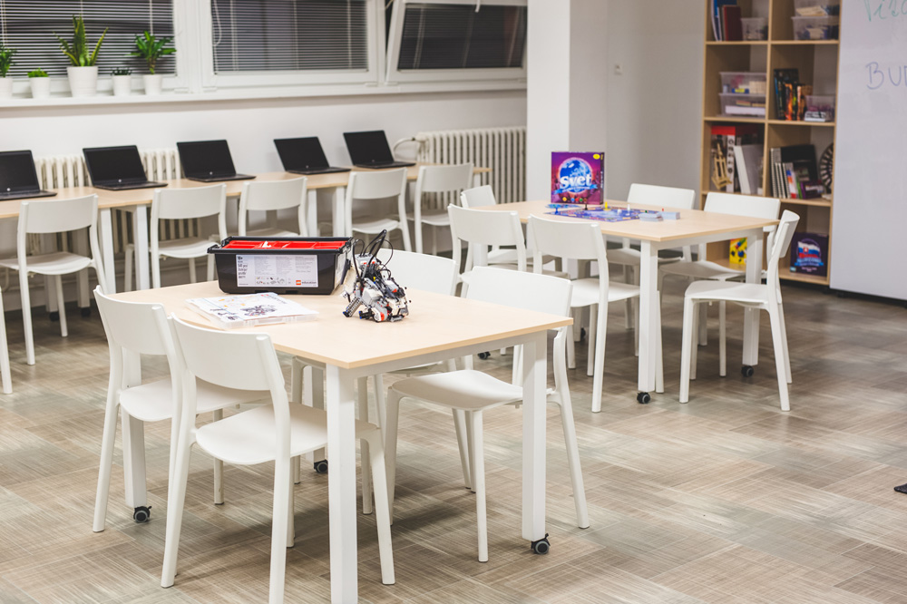 V Trnave vzniklo mimoškolské centrum inovácií pre základoškolákov. Budú hľadať riešenia na komunitné problémy